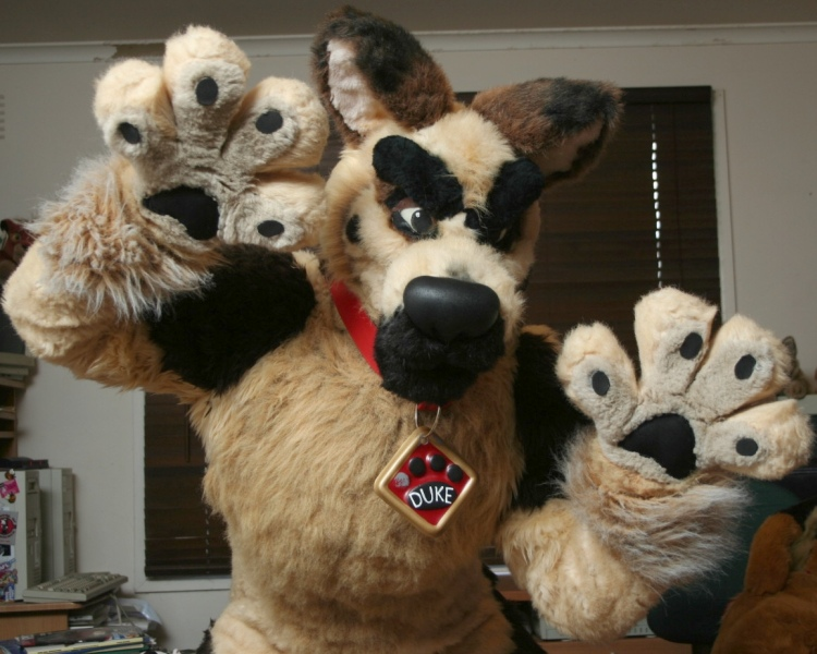 how to make a fursuit harness